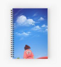 Spirited Sky Spiral Notebook