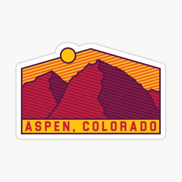 Aspen, Colorado stickers! Sticker