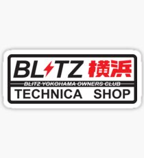 Blitz Technica JDM Sticker