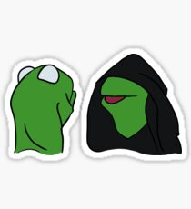 Evil Kermit Sticker