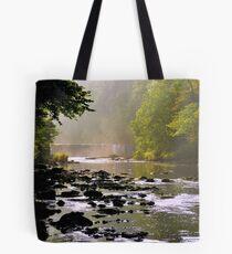 The Almond & Cramond Waterfall Tote Bag