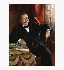 U.S. President Grover Cleveland Portrait Photographic Print