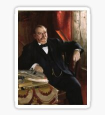 U.S. President Grover Cleveland Portrait Sticker