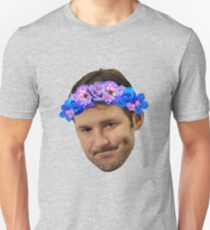 Flower Crown Tony Romo Unisex T-Shirt