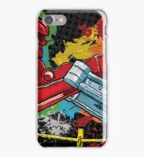 Clash of the Robot Titans iPhone Case/Skin