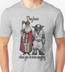 St Nik and Krampus Know T-Shirt
