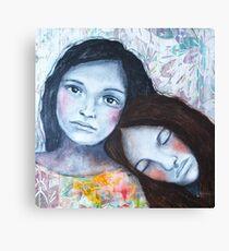 Saying goodbye Canvas Print