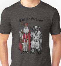 Tis the Season - St Nik and Krampus T-Shirt