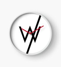 Sleeping with sirens famous logo Clock