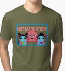 "Fruity Oaty Bar! ""NOT MANDATORY"" Shirt (Firefly/Serenity) Tri-blend T-Shirt"