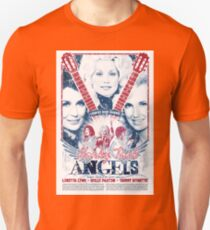 Honky Tonk Angels. Tammy Wynette, Dolly Parton, Loretta Lynn. Nashville, TN. Country Music Unisex T-Shirt