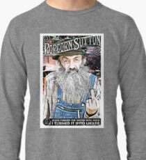 Moonshine Popcorn Sutton  Lightweight Sweatshirt