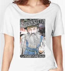 Moonshine Popcorn Sutton  Women's Relaxed Fit T-Shirt