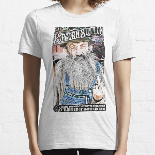 Moonshine Popcorn Sutton  Essential T-Shirt