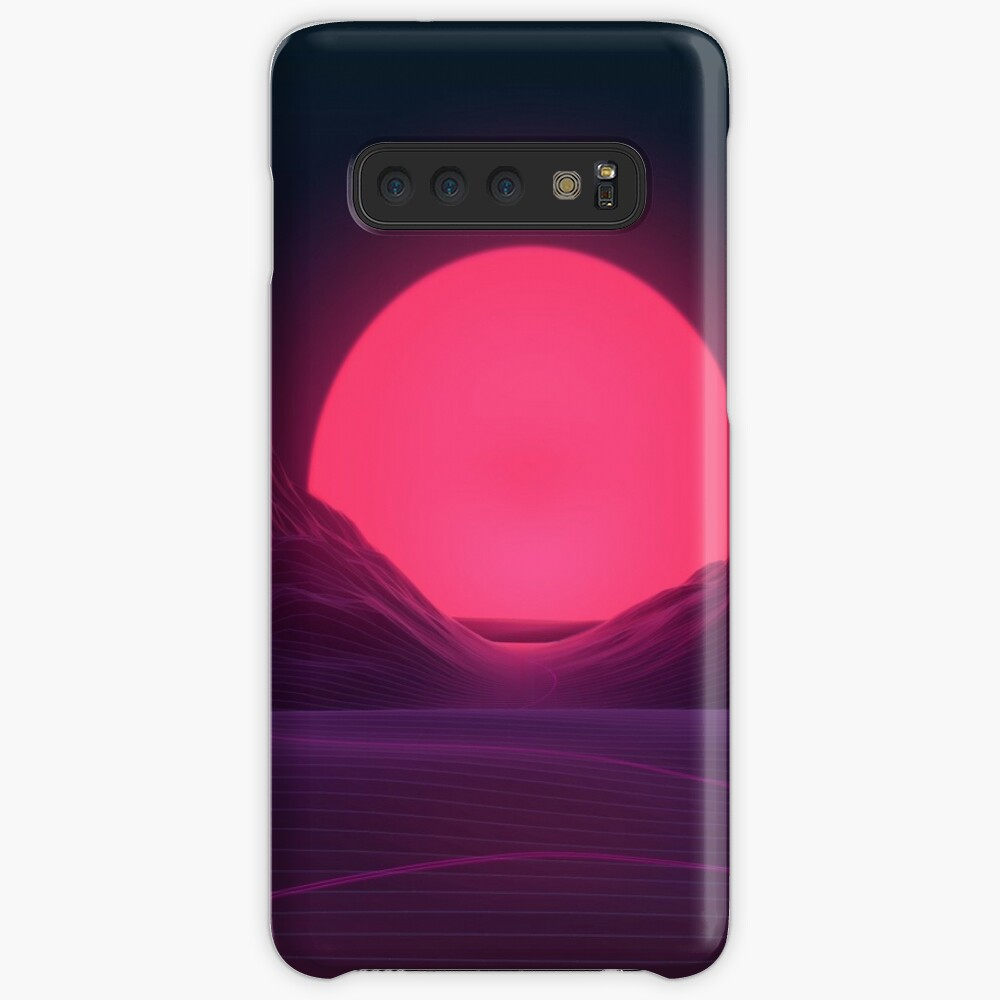 Neon Sunset Cases & Skins for Samsung Galaxy