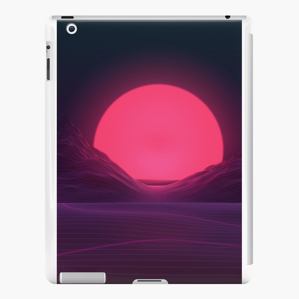 Neon Sunset iPad Cases & Skins