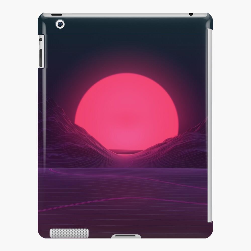Neon Sunset iPad Case & Skin