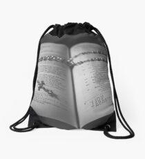 Prayer  Drawstring Bag