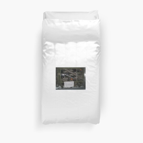 Mechanical - Spruce Goose Duvet Cover