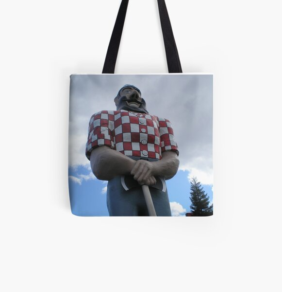 Paul Bunyon. All Over Print Tote Bag
