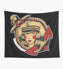 Ahoy There! Wall Tapestry