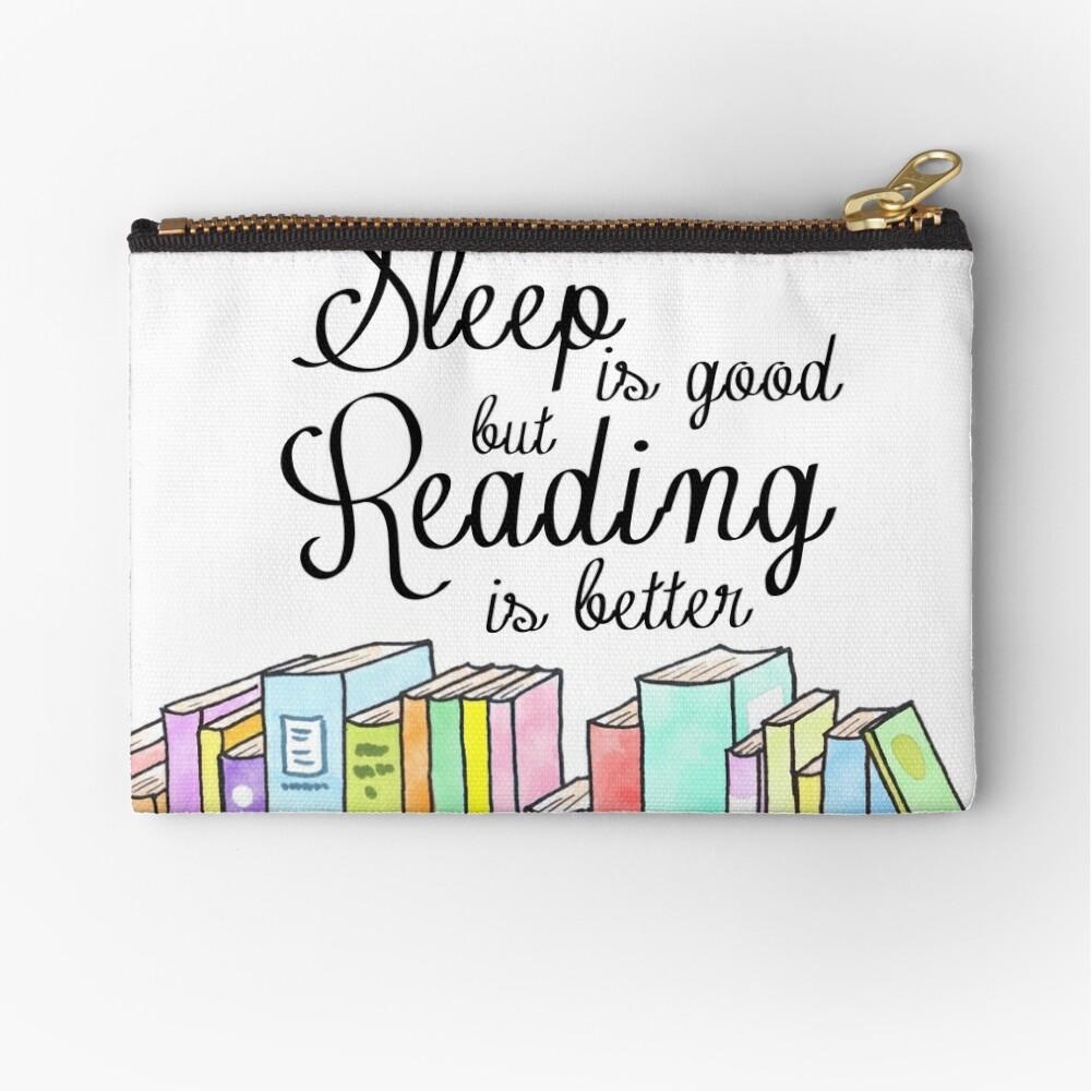 Schlaf ist gut, Lesen ist besser Täschchen
