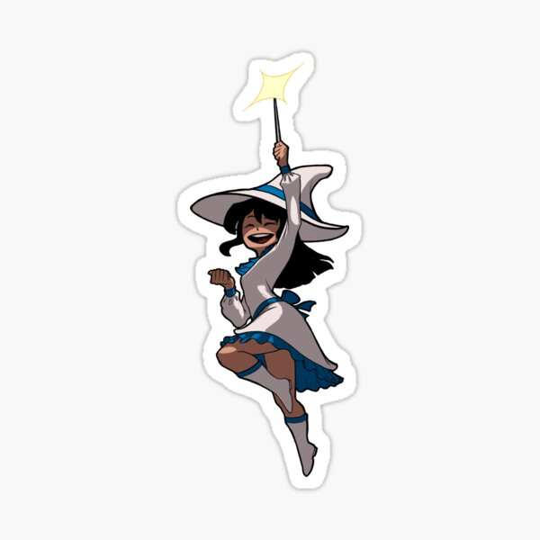 Spell Yeah Cute Witch (No Text) Sticker