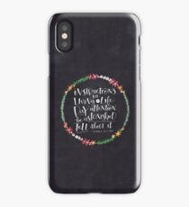 Instructions for Living a Life iPhone Case