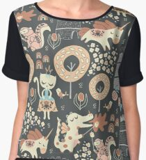 Animal Kingdom  Chiffon Top