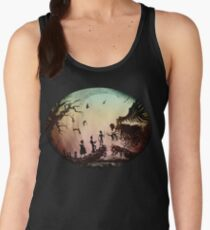 Think Deathly Hallows Women's Tank Top