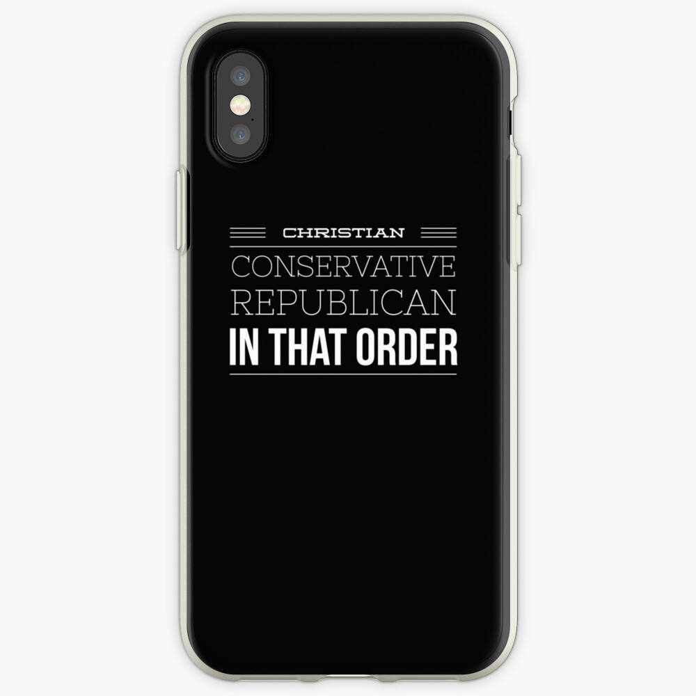 Christian Conservative Republican in that iPhone Cases & Covers