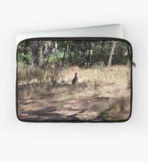 Kangaroos at Hanging Rock, Central Victoria, Australia Laptop Sleeve