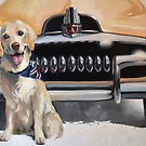 FERGUS AND HIS FJ Feat. 1954 FJ Holden by RosaFedele