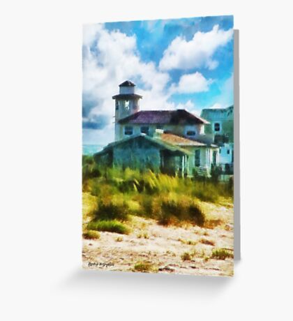 Simple Pleasures III ~ The Lighthouse Keeper Greeting Card