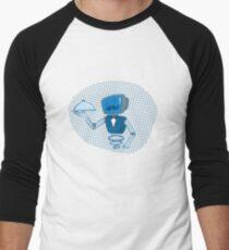 Robot butler Men's Baseball ¾ T-Shirt