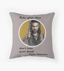 Bohannon Motto Throw Pillow