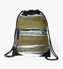 Lady of light Drawstring Bag