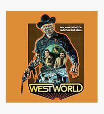West World Premium Merchandise Photographic Print