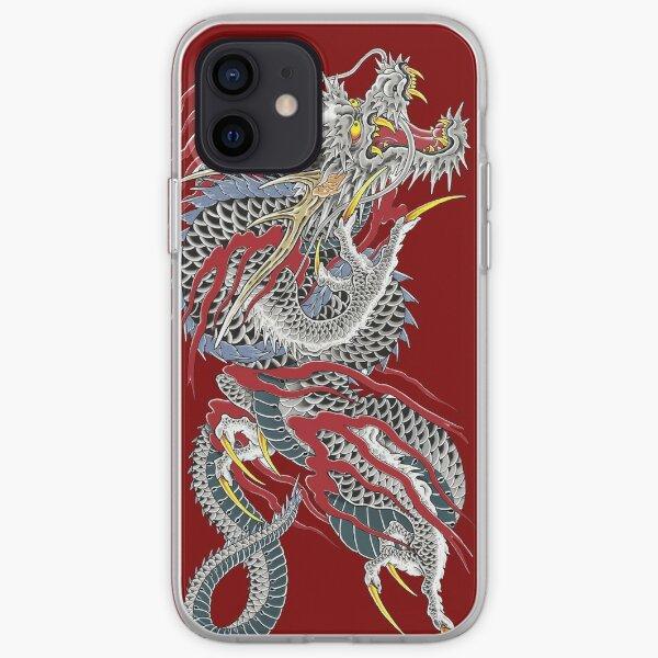 Yakuza dragon tatouage Coque souple iPhone