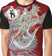 Yakuza Dragon Tattoo Graphic T-Shirt
