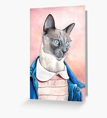 Eleven The Cat Greeting Card