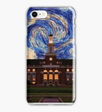 Starry Night Oklahoma State Library iPhone Case/Skin