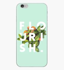 Flourish #redbubble #home #designer #tech #lifestyle #fashion #style iPhone Case
