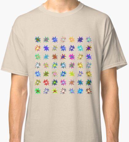 Flower blast structured chaos chaos #fractal art Classic T-Shirt