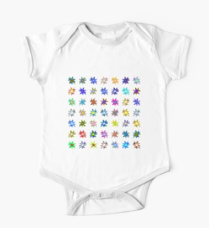 Flower blast structured chaos chaos #fractal art Kids Clothes