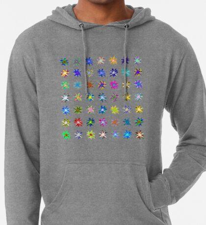 Flower blast structured chaos chaos #fractal art Lightweight Hoodie