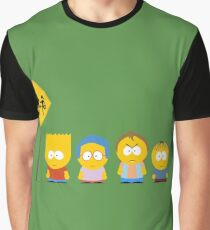 The Simpsons / South Park Graphic T-Shirt