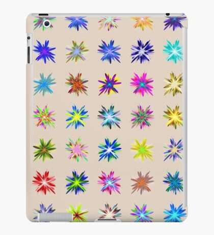 Flower blast structured chaos chaos #fractal art iPad Case/Skin