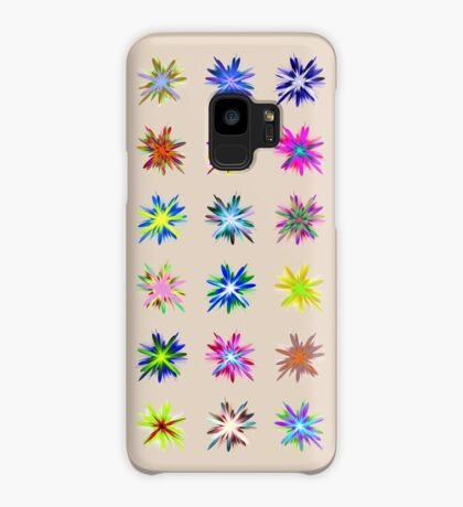 Flower blast structured chaos chaos #fractal art Case/Skin for Samsung Galaxy