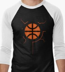 Basketball Reactor Men's Baseball ¾ T-Shirt
